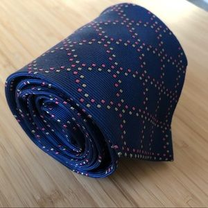 Drake's for Paul Stuart RARE Silk Tie - Royal Blue